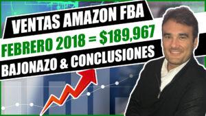 VENTAS FEB 2018 AMAZON FBA