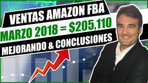 VENTAS AMAZON FBA MARZO 2018