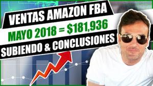 VENTAS AMAZON MAYO 2018