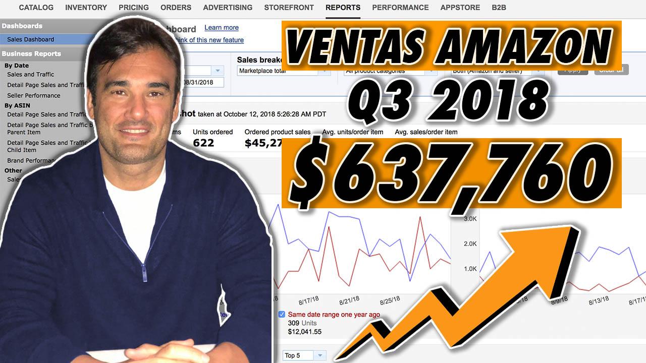 VENTAS AMAZON Q3 2018 - $637,760