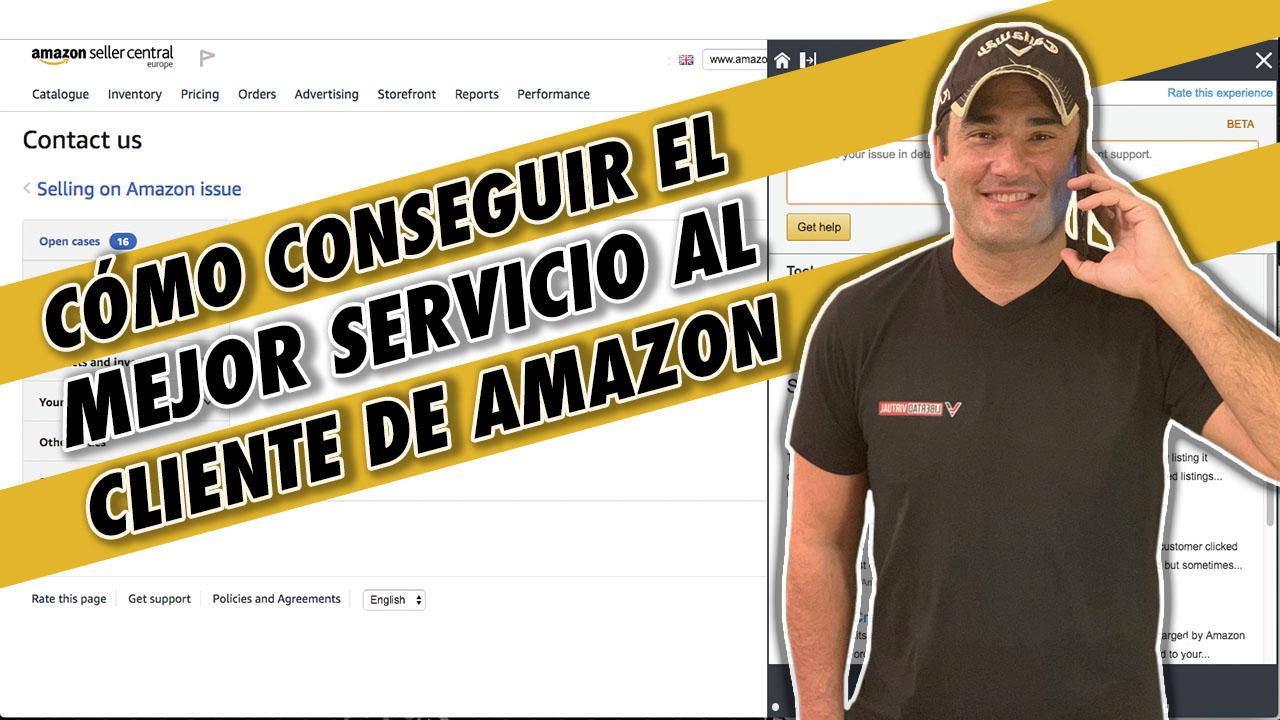 COMO CONSEGUIR EL MEJOR SERVICIO AL CLIENTE EN AMAZON - EQUIPO CAUTIVO DE AMAZON