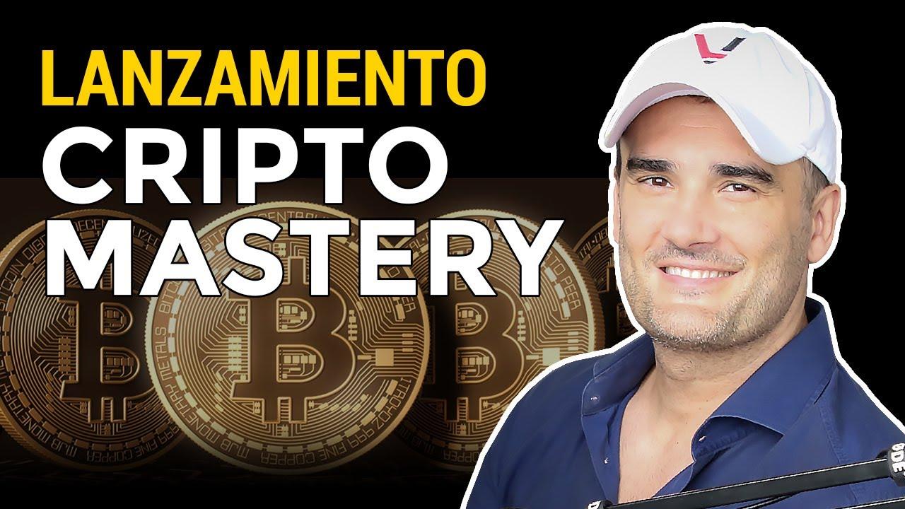 Lanzamiento Cripto Mastery - Todo sobre Criptomonedas, Blockchain y DeFi explicado paso a paso.